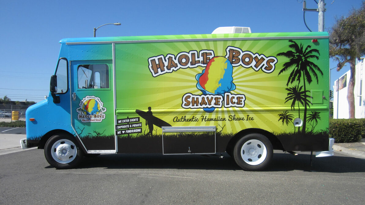 Haole Boys Vehicle Wrap