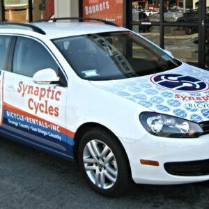 Synaptic Cycles Vehicle Wrap